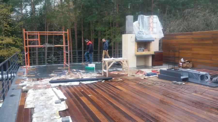 Жилой дом ТРО Балластная эксплуатируемая система. Ждановичи (5 Фото)