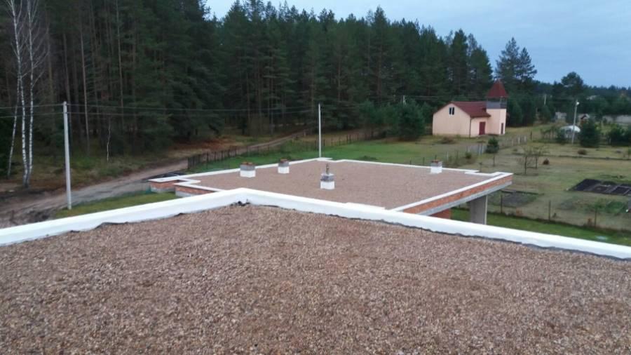 Жилой дом ТРО Балластная система. Логойск (13 Фото)