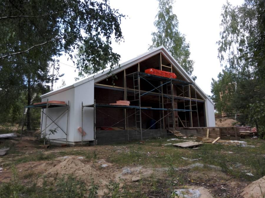 Энергоэффективный дом-дача ТРО Клеевая система. Колодищи (6 Фото)