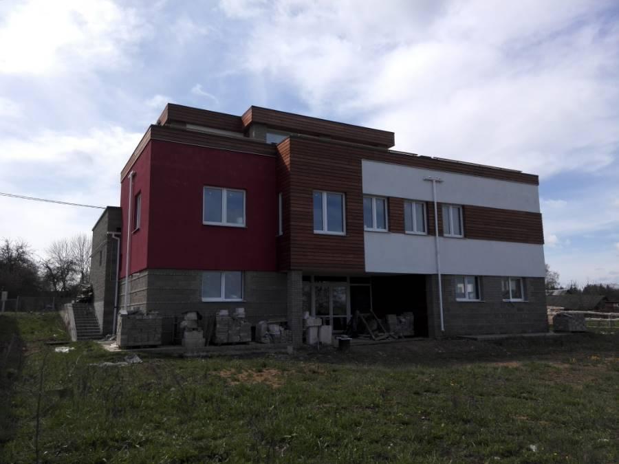 Реконтсрукция кровли жилого дома ТРО Механическая система поверх обмазочной Таборы (7 фото)