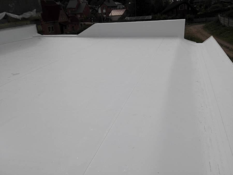 Терраса жилого дома ТРО Механическая Неэксплуатируемая Раубичи (4 Фото)
