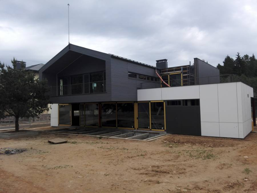 Террасы жилого дома ТРО  Балластная система Мочаны (9 Фото)