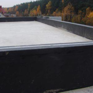 Терраса жилого дома EPDM Балластная Инверсионная система. Лесковка (7 фото)