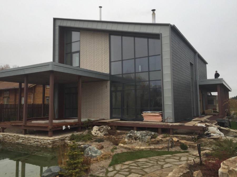 Террасы жилого дома ТРО Инверсионная Балластная система. Слобода (5 Фото)