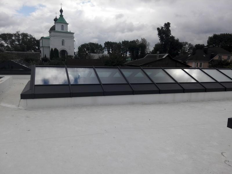 Жилой дом TPO Механическая Зенитные фонари Сенница (10 фото)